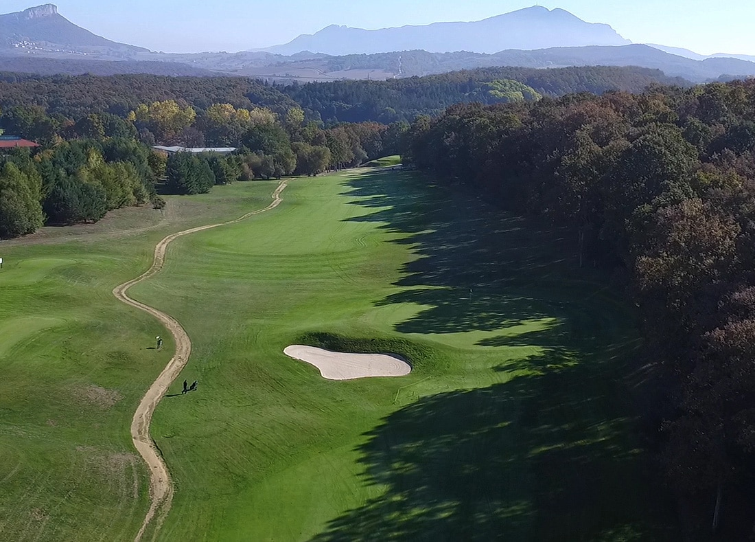 Hole 7, Hoyo 7, Izki Golf Club, Spanish Golf Course Severiano Ballesteros