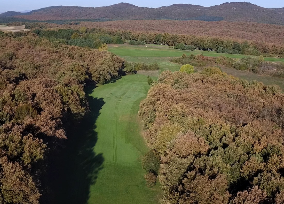 Hole 10, Hoyo 10, Izki Golf Club, Spanish Golf Course Severiano Ballesteros