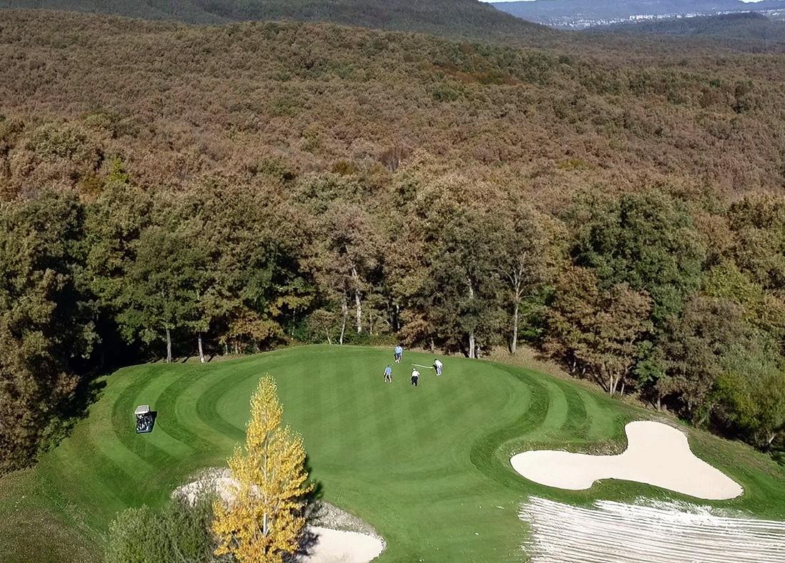 Hole 12, Hoyo 12, Izki Golf Club, Spanish Golf Course Severiano Ballesteros