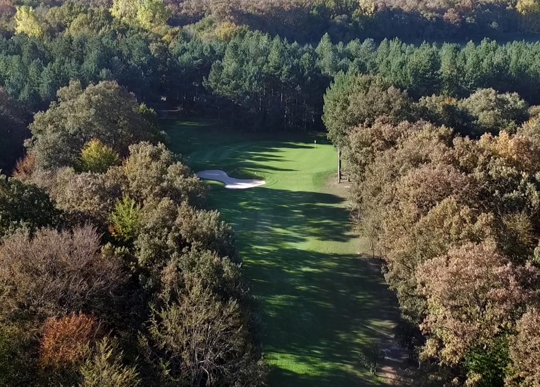 Hole 14, Hoyo 14, Izki Golf Club, Spanish Golf Course Severiano Ballesteros
