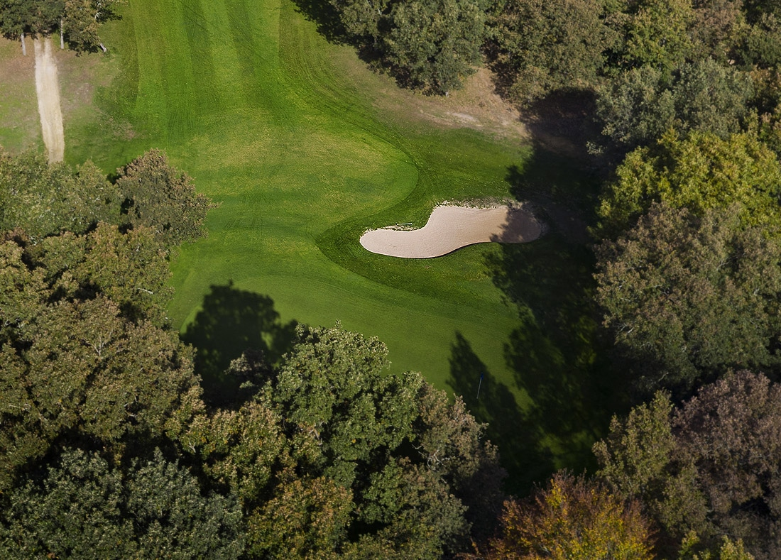 Hole 5, Hoyo 5, Izki Golf Club, Spanish Golf Course Severiano Ballesteros