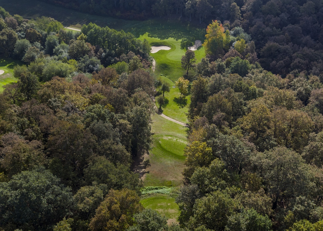 Hole 6, Hoyo 6, Izki Golf Club, Spanish Golf Course Severiano Ballesteros