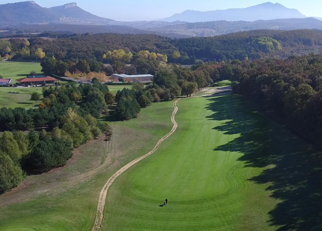 Hole 8, Hoyo 8, Izki Golf Club, Spanish Golf Course Severiano Ballesteros