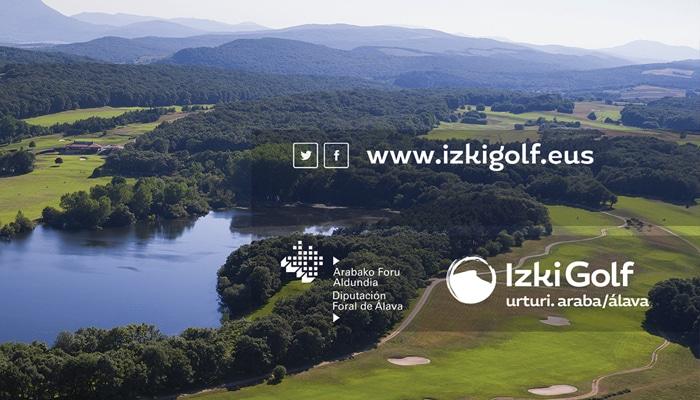 Nueva página web izki golf. Diseño batweb. Vitoria-Gasteiz. Álava