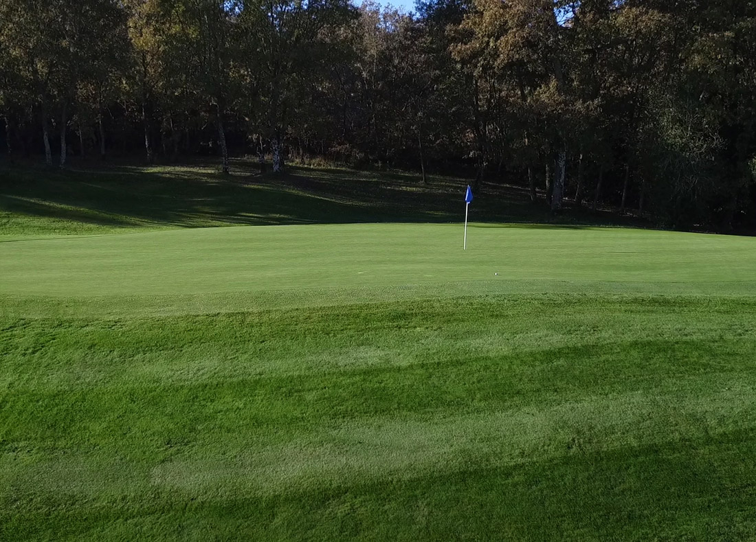 Hole 10, Hoyo 10, Izki Golf Club, Spanish Golf Course Severiano Ballesteros