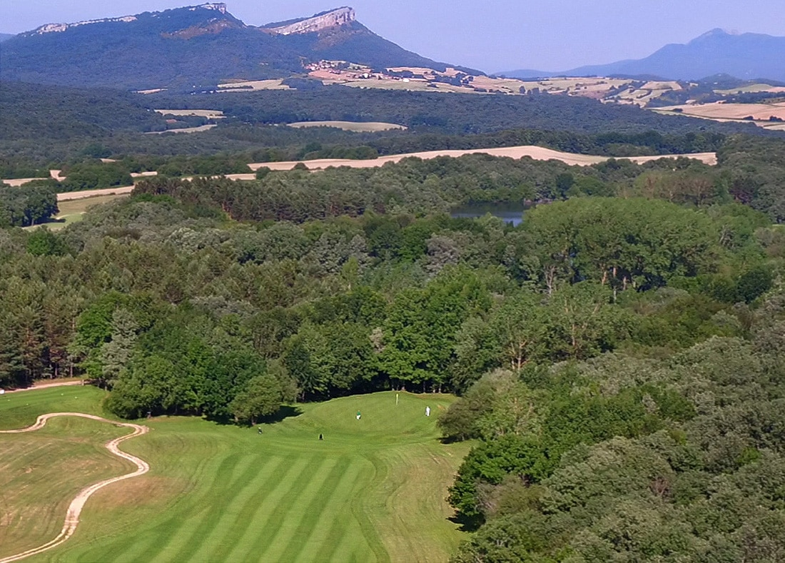 Hole 11, Hoyo 11, Izki Golf Club, Spanish Golf Course Severiano Ballesteros