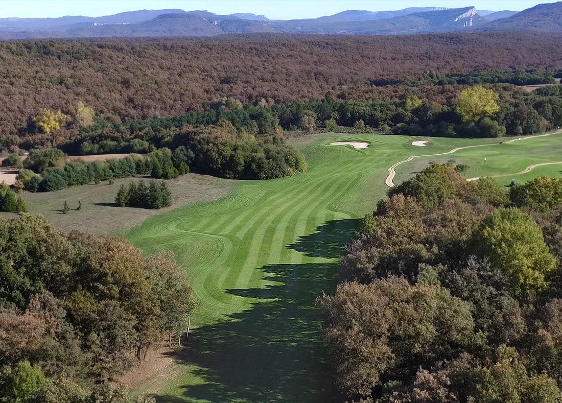 Hole 15, Hoyo 15, Izki Golf Club, Spanish Golf Course Severiano Ballesteros