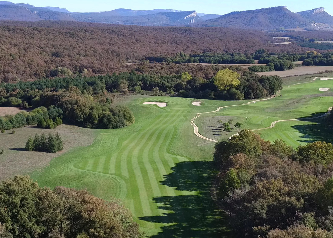 Hole 15, Hoyo 15, Izki Golf Club, Spanish Golf Course Severiano Ballesteros