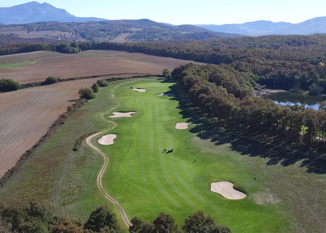 Hole 16, Hoyo 16, Izki Golf Club, Spanish Golf Course Severiano Ballesteros