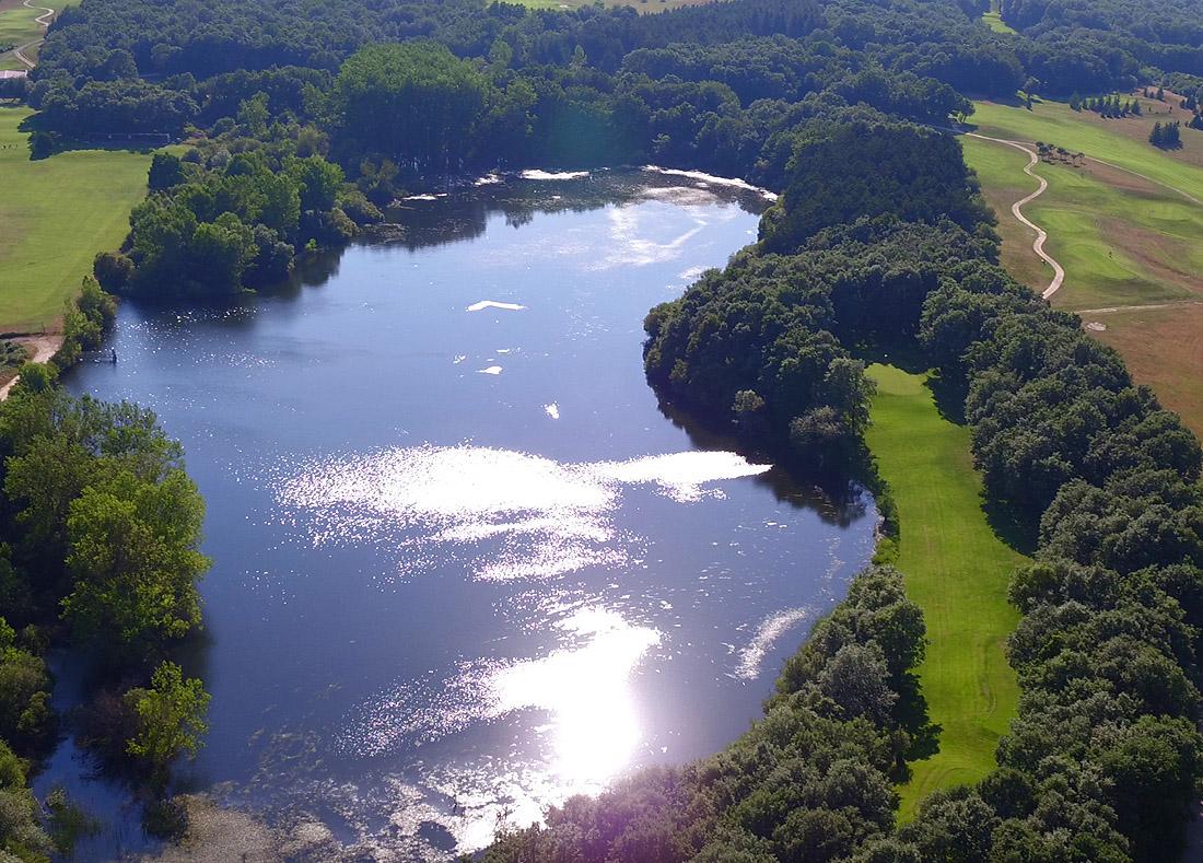 Hole 17, Hoyo 17, Izki Golf Club, Spanish Golf Course Severiano Ballesteros