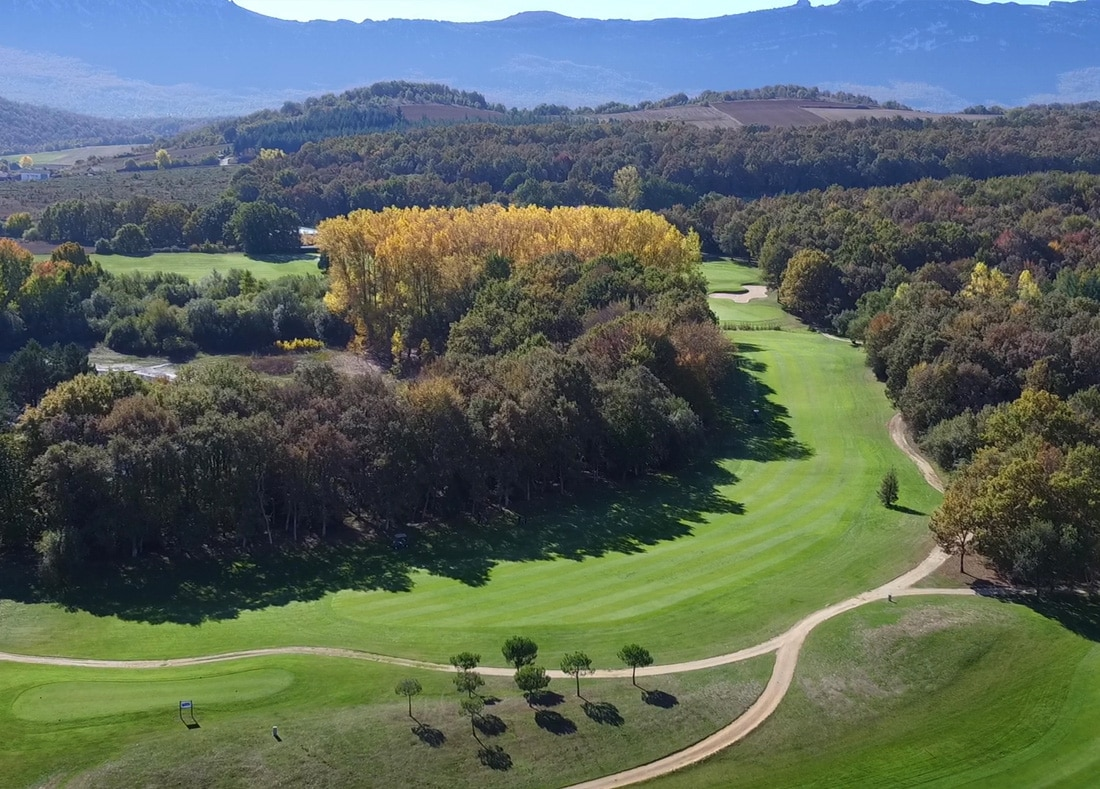 Hole 18, Hoyo 18, Izki Golf Club, Spanish Golf Course Severiano Ballesteros