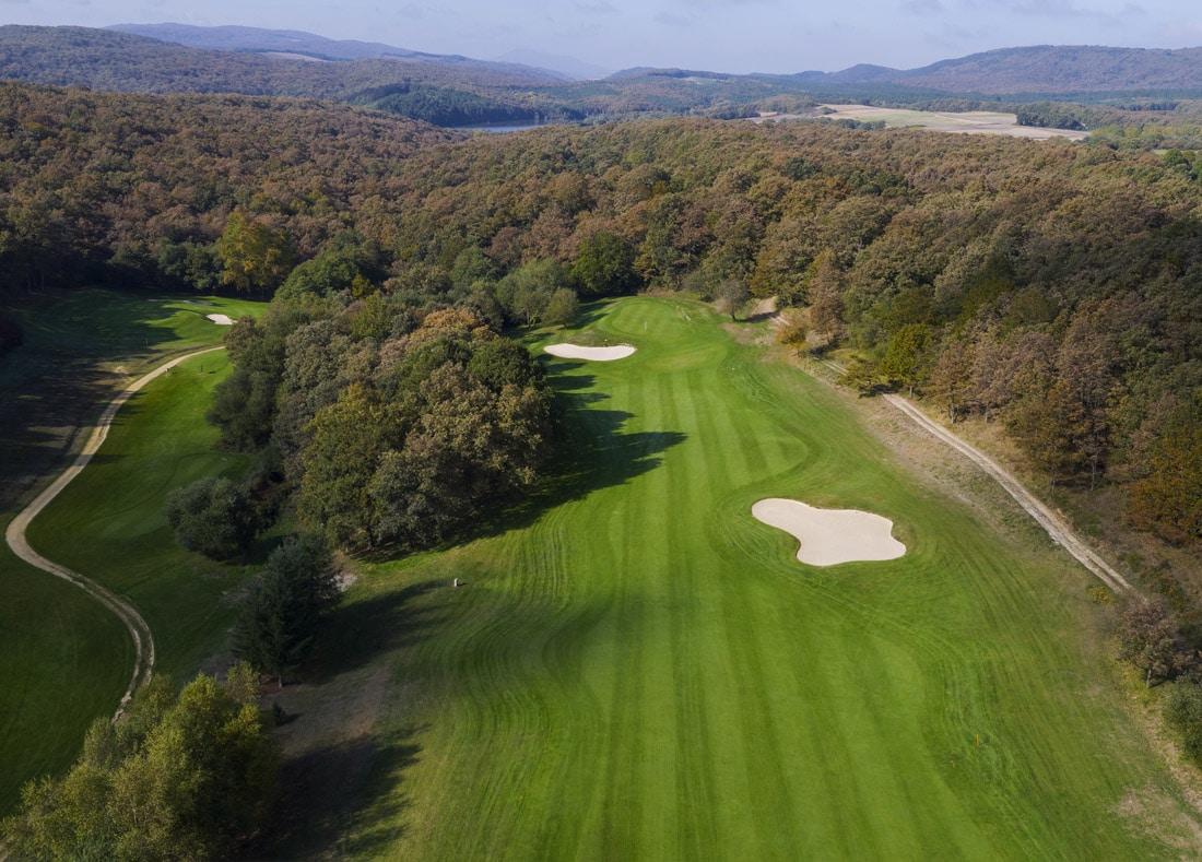 Hole 2, Hoyo 2, Izki Golf Club, Spanish Golf Course Severiano Ballesteros