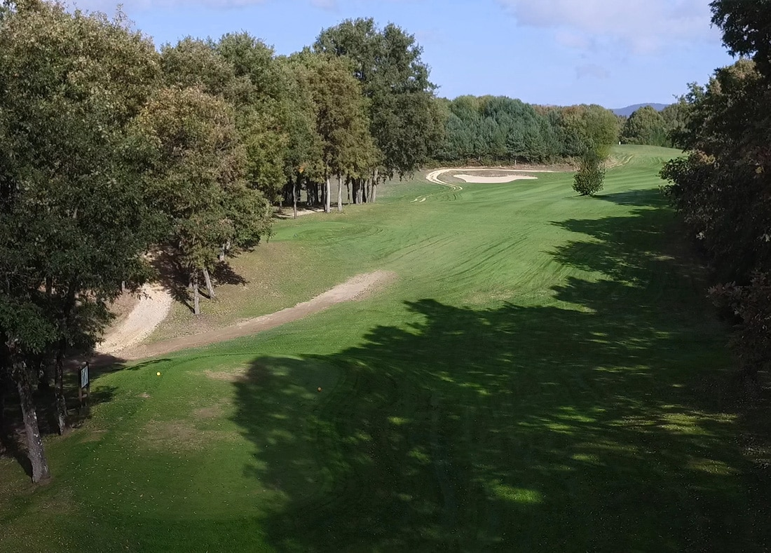 Hole 3, Hoyo 3, Izki Golf Club, Spanish Golf Course Severiano Ballesteros