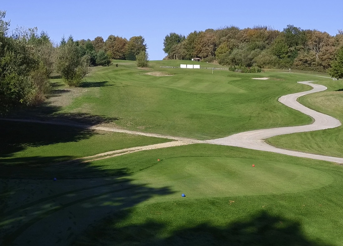 Hole 9, Hoyo 9, Izki Golf Club, Spanish Golf Course Severiano Ballesteros