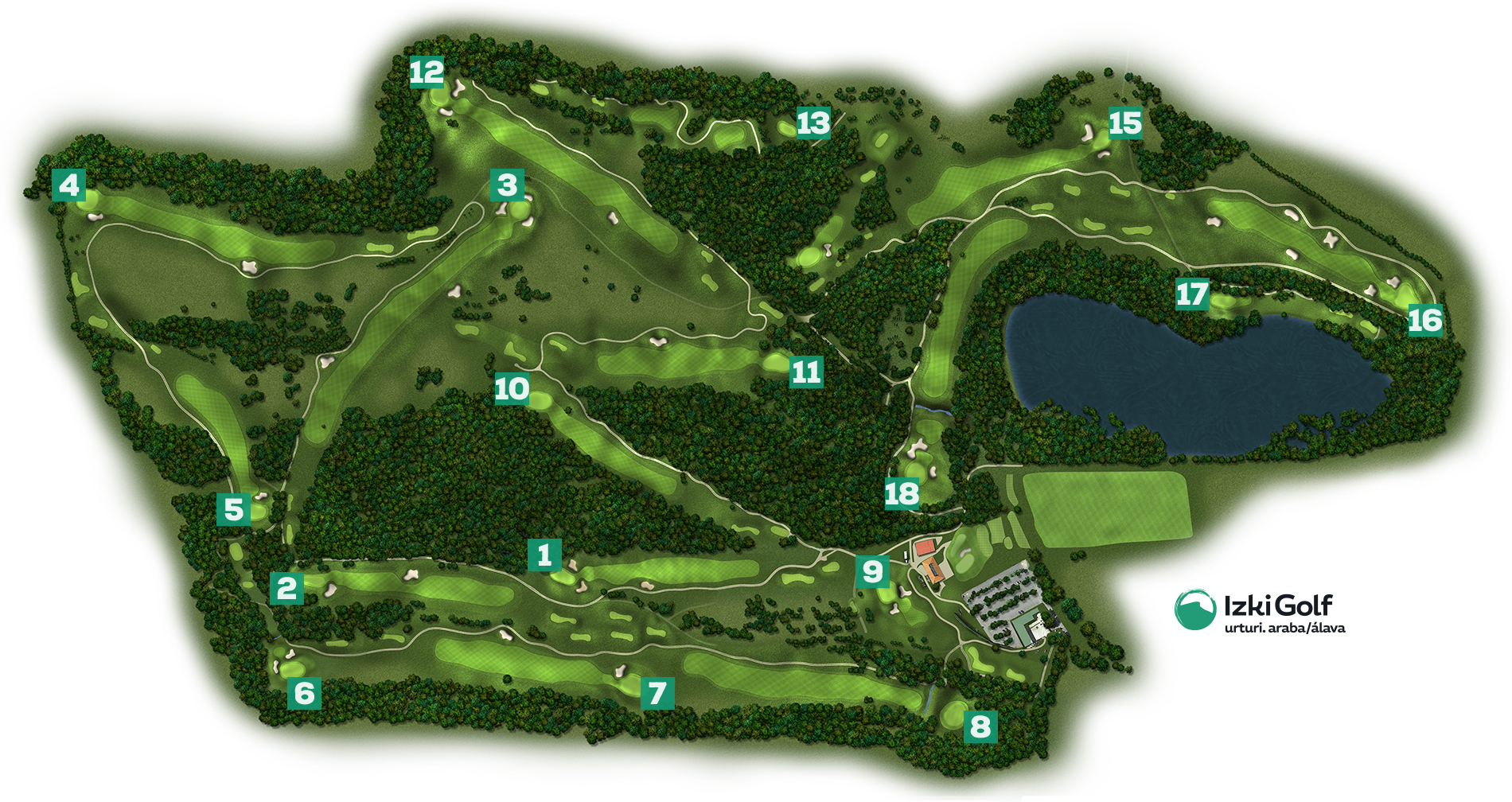 Izki Golf 18