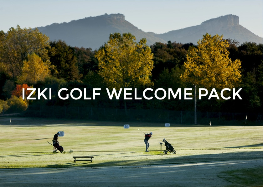 welcome pack izki golf spain