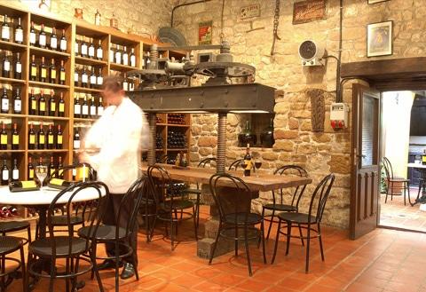 Comer en Rioja Alavesa. Izki-Golf
